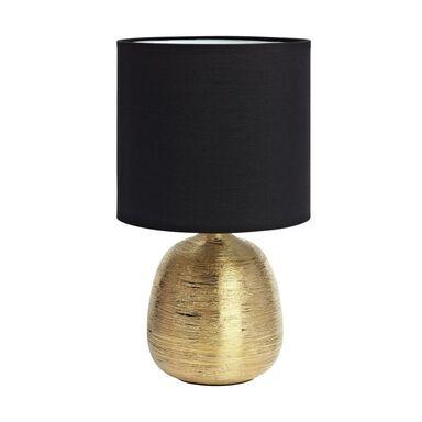 Lampa stołowa OSCAR czarno-złota E27 MARKSLOJD