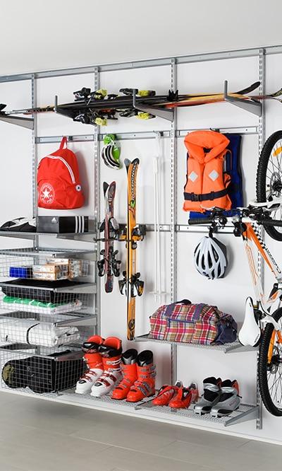 Porządek w garażu i piwnicy