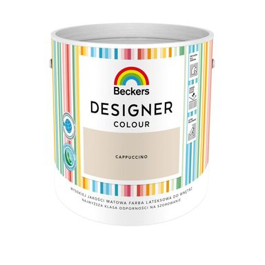 Farba wewnętrzna DESIGNER COLOUR 2.5 l Cappucino BECKERS