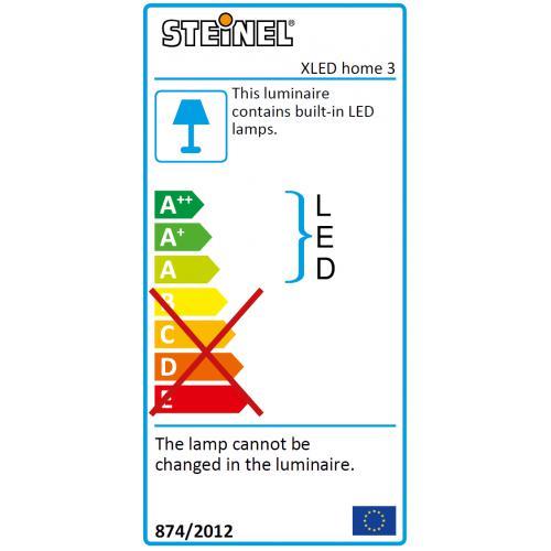 reflektor led z czujnikiem ruchu i zmierzchu xled home 3 18 w ip44 steinel kinkiety lampy. Black Bedroom Furniture Sets. Home Design Ideas