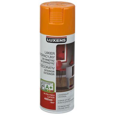 Spray KOLOR 0.4 l Pomarańczowy Połysk LUXENS