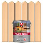 Lazura do drewna POLSKI KLIMAT 5 l  Bezbarwny V33