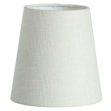 Abażur CLIP 14.5 x 15 cm tkanina kremowy ORIVA AB