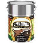 Farba na dach poliwinylowa CYNKOBOND 5 l Ciemny brązowy DEN BRAVEN