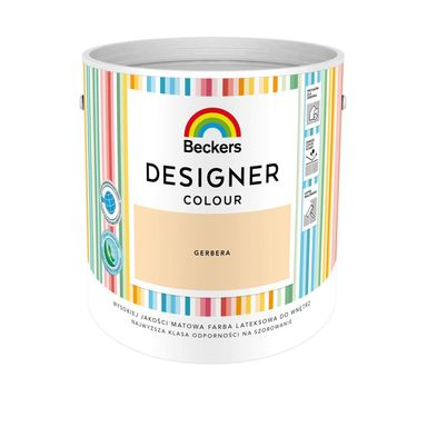 Farba wewnętrzna DESIGNER COLOUR 2.5 l Gerbera BECKERS