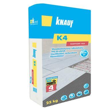 Wysokoelastyczny klej do płytek K4 PLUS 25 kg KNAUF