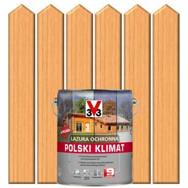 Lazura do drewna POLSKI KLIMAT 5 l  Sosna skandynawska V33
