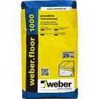 Posadzka cementowa WEBER FLOOR 1000 25kg 10 - 100 mm WEBER