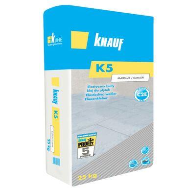 Elastyczny klej do płytek biały K5 MARMUR/KAMIEŃ KNAUF