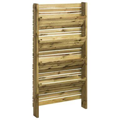 Warzywnik pionowy 15 x 90 x 180 cm drewniany EDEN FOREST-STYLE