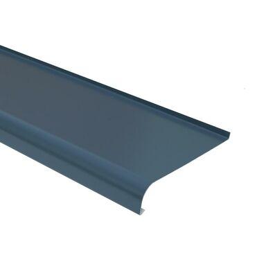 Parapet zewnętrzny stalowy grafitowy 120x20x0.7 cm Domidor