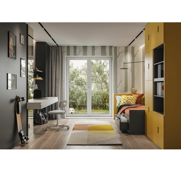 Zaslona Henley Ciemnoszara 140 X 250 Cm Na Przelotkach Zaslony Gotowe W Atrakcyjnej Cenie W Sklepach Leroy Merlin Home Home Decor Decor