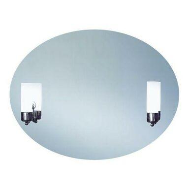 Lustro łazienkowe z oświetleniem kinkietowym CASO 80 x 60 DUBIEL VITRUM