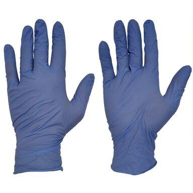 Rękawice ochronne nitrylowe r. L/8 10 szt.