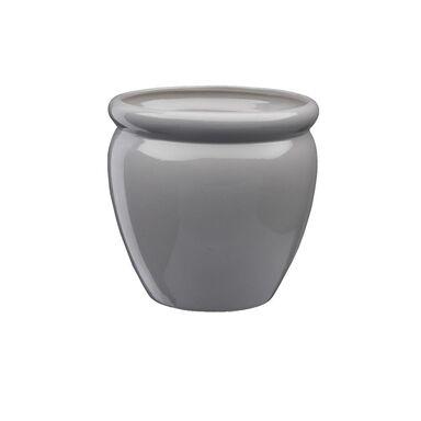 Doniczka ceramiczna 28 cm biała MUZA 5 J22 EKO-CERAMIKA