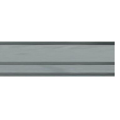 Szyna sufitowa 3-torowa HELSINKI 250 cm szara aluminiowa GARDINIA