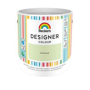 Farba wewnętrzna DESIGNER COLOUR 2.5 l Pistachio BECKERS