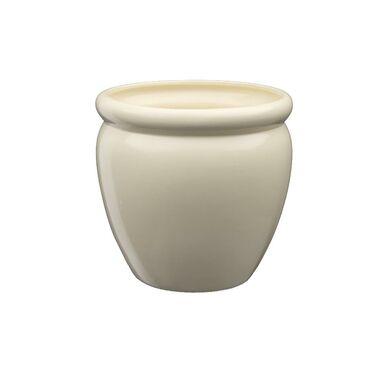 Doniczka ceramiczna 28 cm beżowa MUZA 5 J10