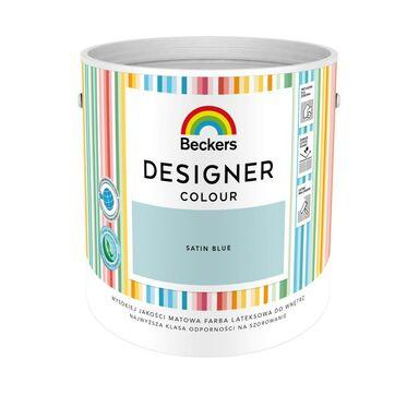 Farba wewnętrzna DESIGNER COLOUR 2.5 l Satin Blue BECKERS