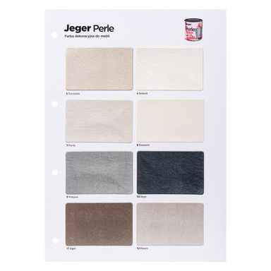 Wzornik kolorów PERLE JEGER