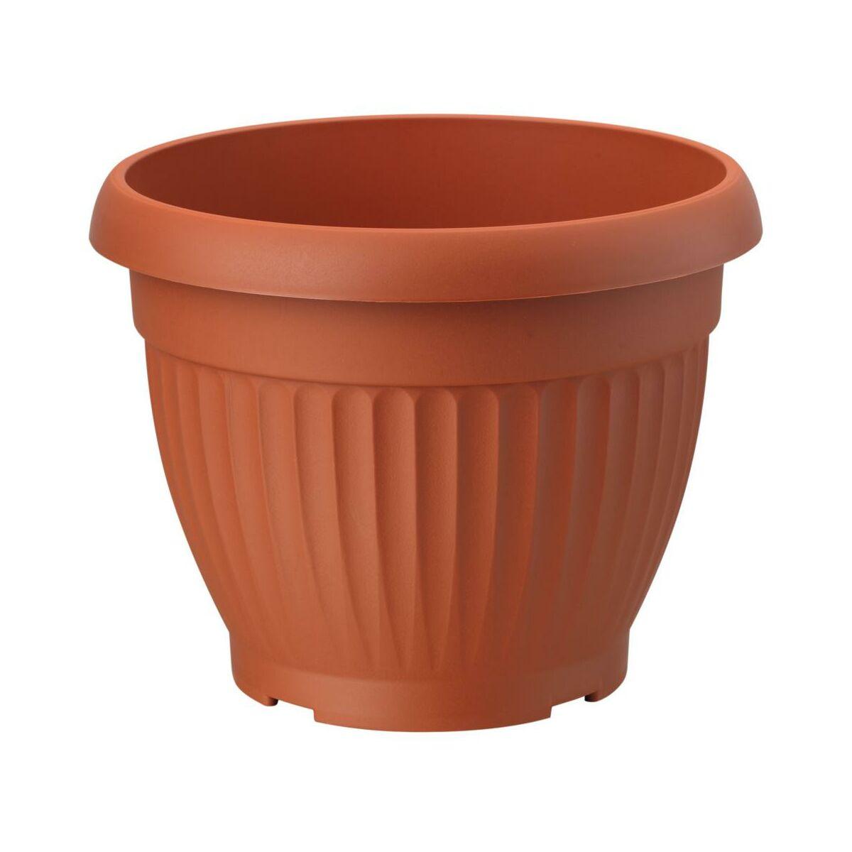 Doniczka Plastikowa 23 Cm Terrakota Dona Form Plastic