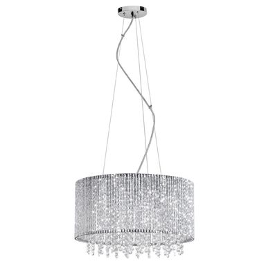 Lampa wisząca ANABELLA chrom G9 ITALUX