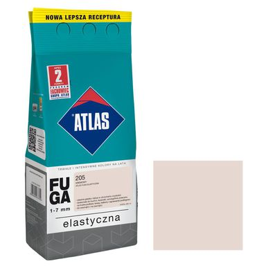 Fuga cementowa 205  kremowy  2 kg ATLAS