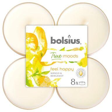 Podgrzewacz zapachowy FEEL HAPPY mango z bergamotką 8 szt. BOLSIUS