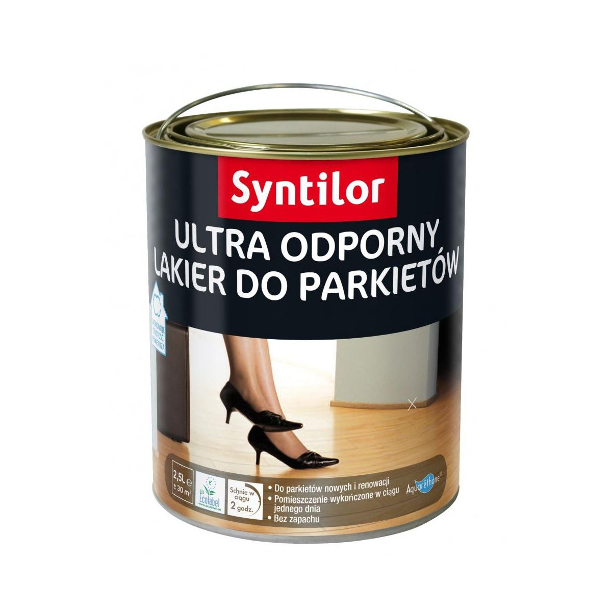 Lakier Do Parkietu Ultra Odporny 5 L Bezbarwny Polysk Syntilor Lakiery Do Parkietu W Atrakcyjnej Cenie W Sklepach Leroy Merlin