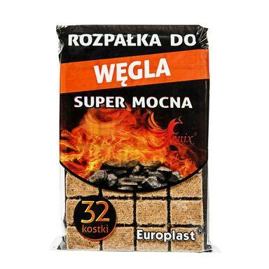Podpałka SUPER MOCNA 0.16kg EUROPLAST