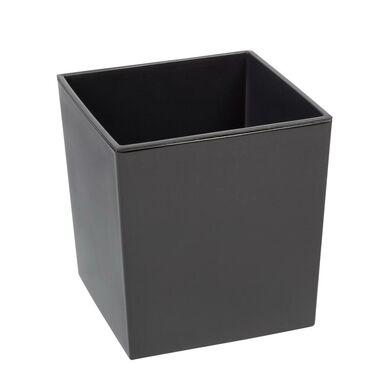 Doniczka plastikowa 19 x 19 cm antracytowa JUKA