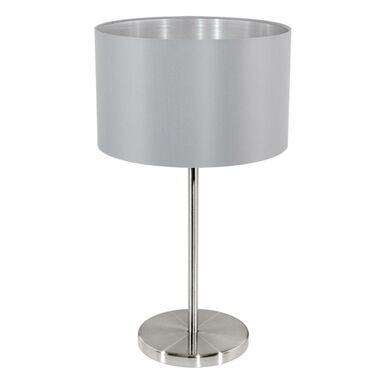 Lampa stołowa MASERLO szara E27 EGLO