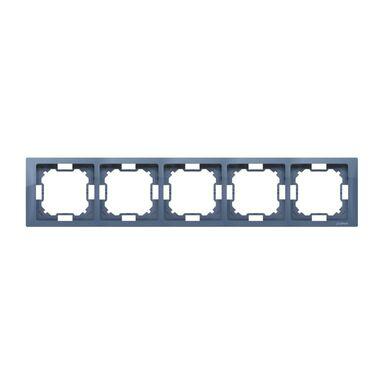 Ramka pięciokrotna SIMON BASIC  lawendowy  KONTAKT SIMON