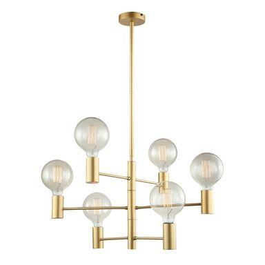 Lampa wisząca VEVA złota E27 ITALUX