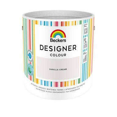 Farba wewnętrzna DESIGNER COLOUR 2.5 l Vanilla Cream BECKERS