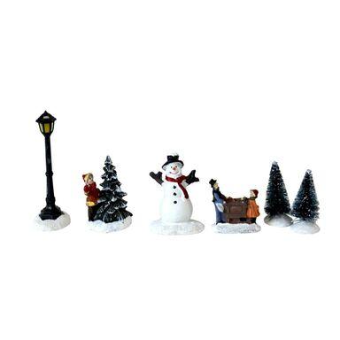 Zestaw mini figurek bożonarodzeniowych