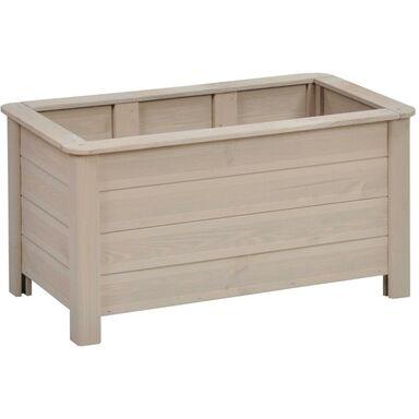 Donica ogrodowa 80 x 40 cm drewniana piaskowa TRENTO SOBEX