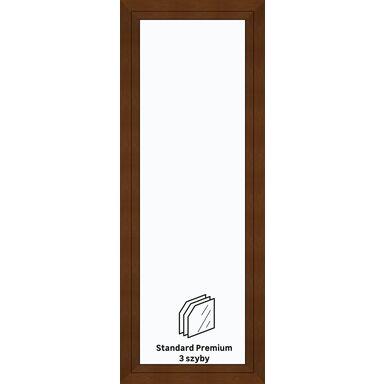 Okno PCV 3-szybowe balkonowe OB8 Złoty dąb 865 x 2295 mm