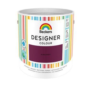 Farba wewnętrzna DESIGNER COLOUR 2.5 l Burgundy BECKERS