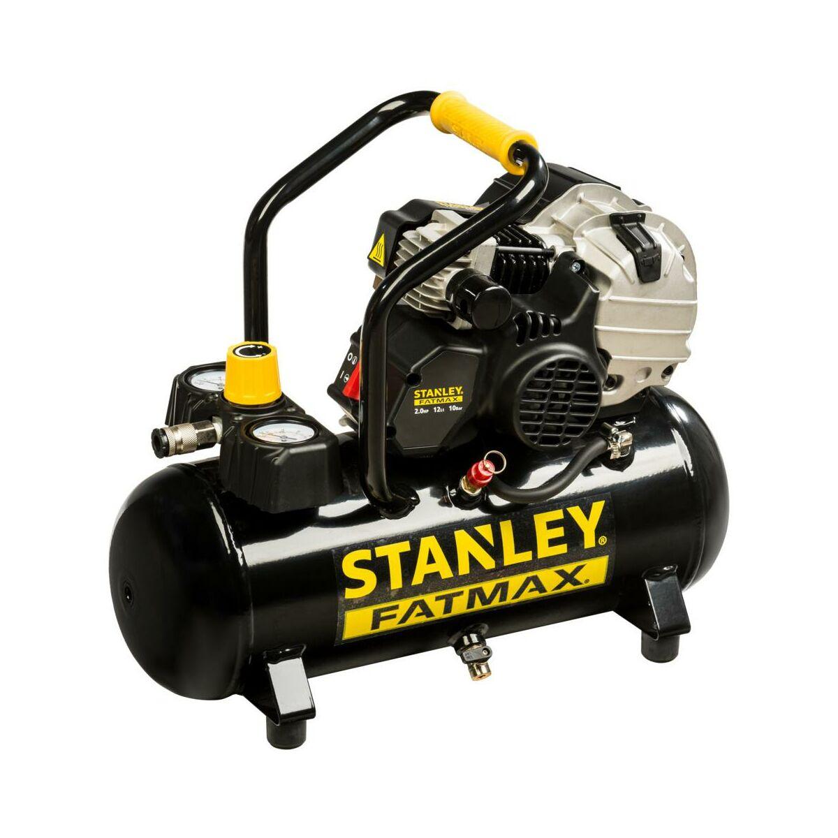 Kompresor Olejowy Hybd404stf509 12 L 10 Bar Stanley Fatmax Kompresory W Atrakcyjnej Cenie W Sklepach Leroy Merlin