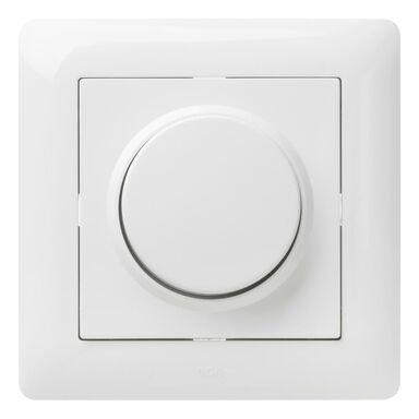 Ściemniacz przyciskowo-obrotowy ASTORIA  Biały  ELEKTRO-PLAST