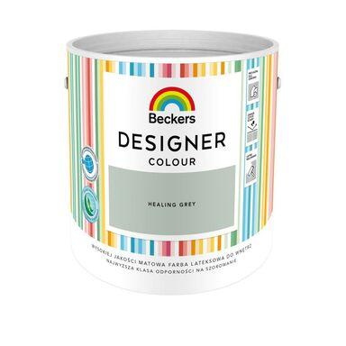 Farba wewnętrzna DESIGNER COLOUR 2.5 l Healing Grey BECKERS