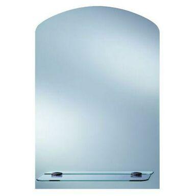 Lustro łazienkowe bez oświetlenia TOALETKA Z PÓŁKĄ 63 x 44 cm DUBIEL VITRUM