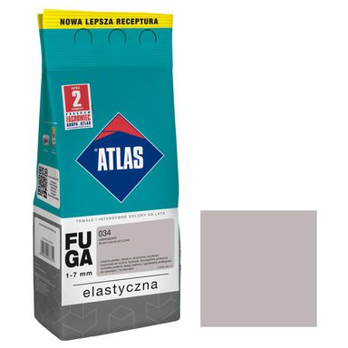 Fuga 034  jasnoszary  2 kg ATLAS