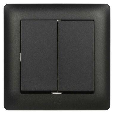 Włącznik ASTORIA  czarny  ELEKTRO-PLAST