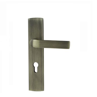 Klamka do drzwi zewnętrznych Cesare 72 mm patyna Schaffner