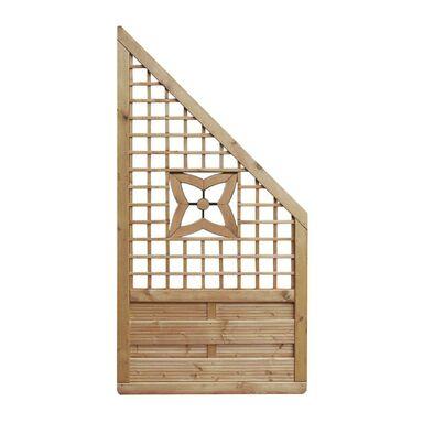 Płot skośny 90x180 cm drewniany MALVA WERTH-HOLZ