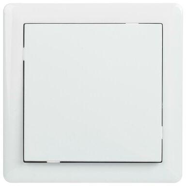 Włącznik pojedynczy schodowy SLIM  biały  LEXMAN