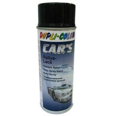 Lakier samochodowy w sprayu CARS RALLY 400 ml Czarny Mat DUPLI COLOR