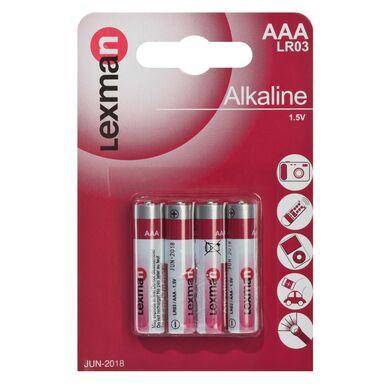Baterie LR03 / AAA LEXMAN